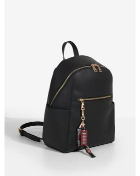 London Black Backpack Parfois 161630_BK