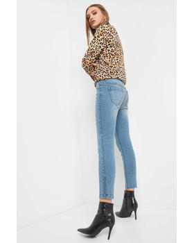 Jeans im Used-Look Orsay 316107_547000